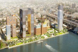 New York s'offre un building avec un trou au milieu