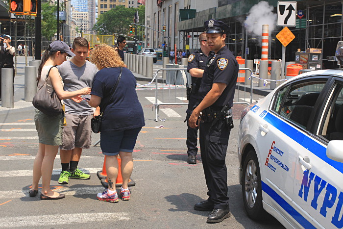 policier new york