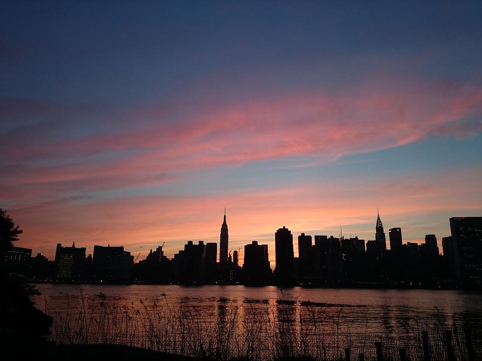 Les 5 meilleurs endroits pour voir le coucher de soleil - Coucher du soleil new york ...