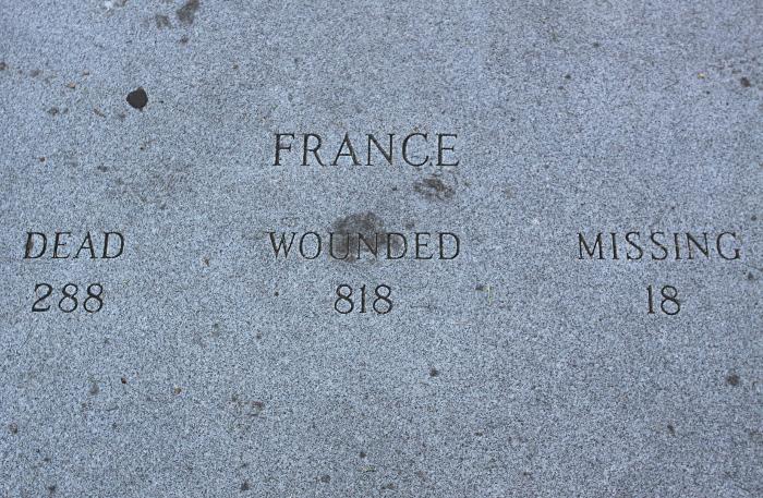 france memorial new york