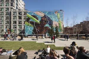 2 nouvelles œuvres d'art sur la High Line de New York