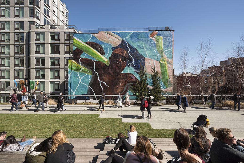 Line Art New York : Nouvelles œuvres d art sur la high line de new york