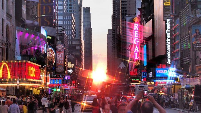 Manhattanhenge new york 2017 ny