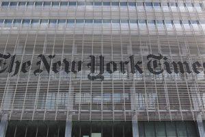 Découvrez l'immeuble du New York Times à New York