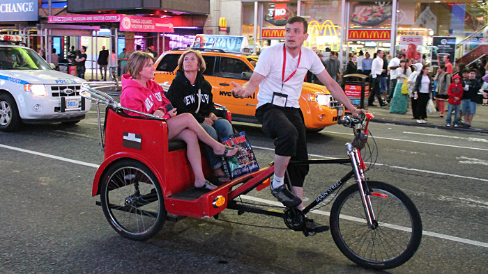 pedicab new york