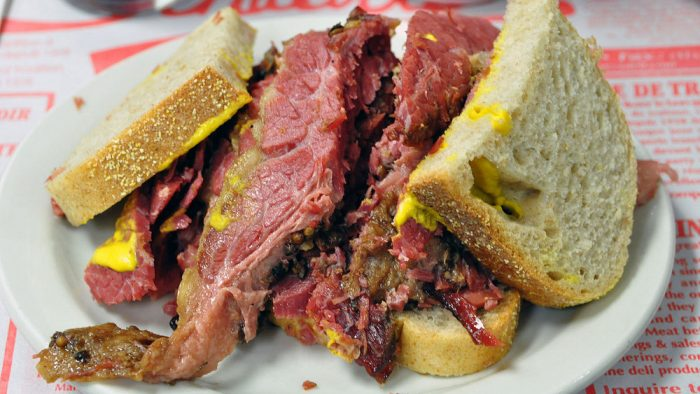 sandwich smoked meat