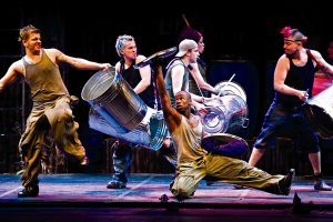 Stomp, le spectacle qui fait du bruit à New York