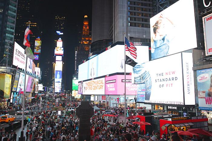 new york times square ny
