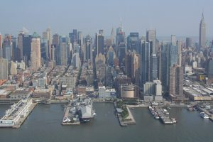 Promotion sur les survols de New York en hélicoptère