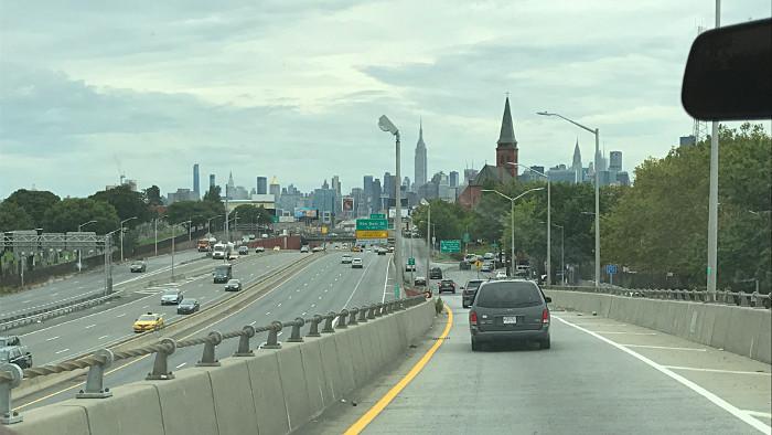 transfert aeroport new york skyline