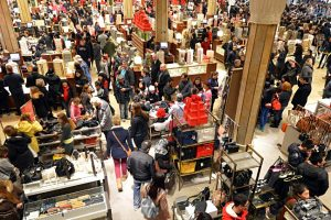 Black Friday, la plus grosse journée de soldes à New York