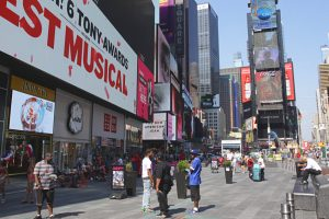 Pourquoi Broadway traverse New York en diagonale ?