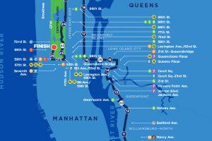 Le parcours du marathon de New York 2017
