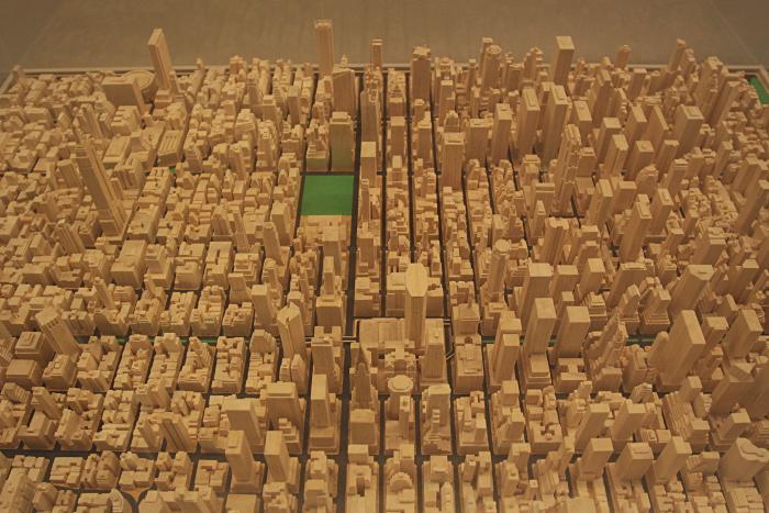 skyscraper museum maquette