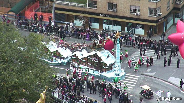 webcam parade thanksgiving