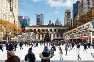 Profitez du Winter Village de Bryant Park à New York