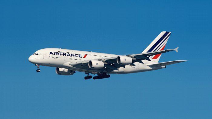 air france A380 new york