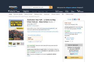 Le guide «Destination New York» est disponible sur Amazon !