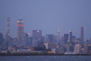Le calendrier des couleurs de l'Empire State building