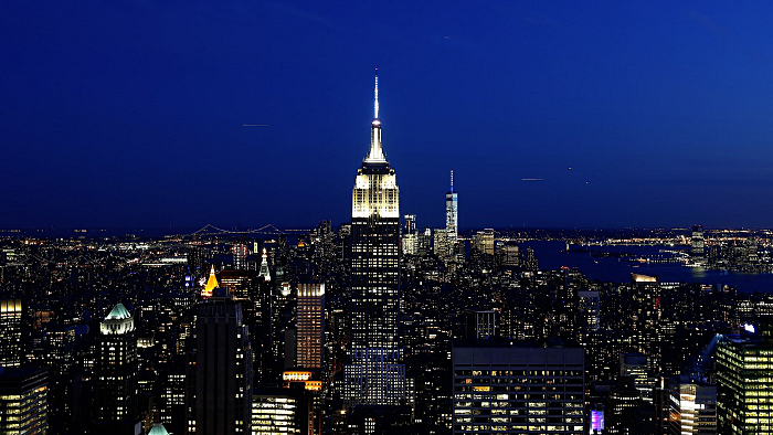 empire state building nuit
