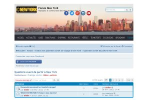 Participez au Forum New York avec votre profil Facebook !