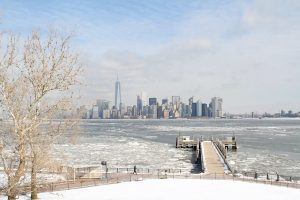 Vague de froid pour le nouvel An à New York