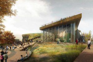 La construction du nouveau musée de la statue de la Liberté a commencé