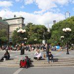 Union Square Park, un parc toujours animé à New York