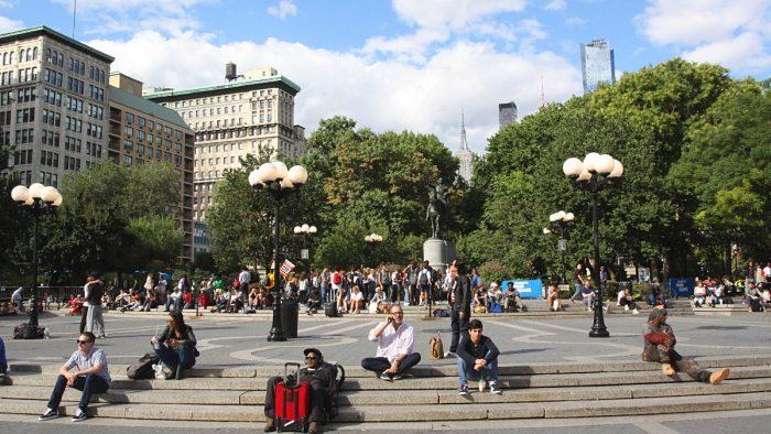 union square park new york