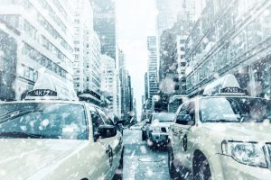 New York attend sa première tempête de neige de l'année