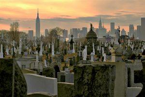 Calvary, repos éternel face aux gratte-ciel de New York