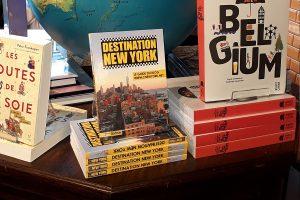 Mon guide Destination New York dans une librairie en Belgique !