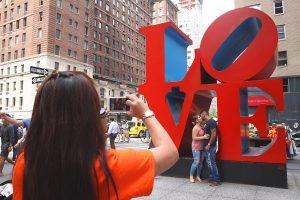 LOVE, une sculpture pour les amoureux à New York