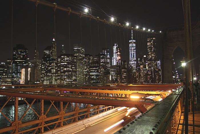 pont brooklyn nuit