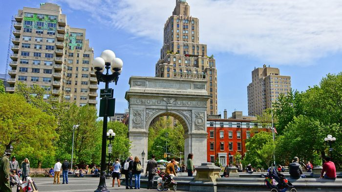 washington square arch new york