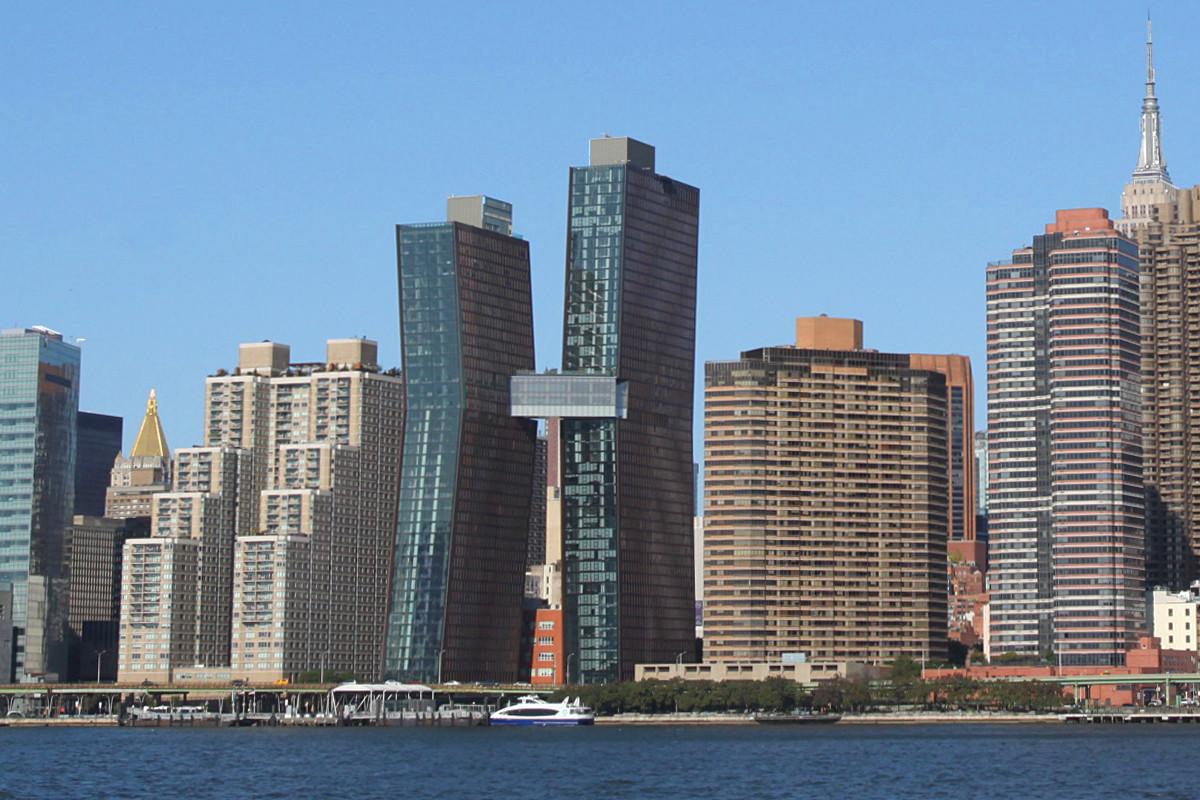 l 39 trange building en forme de k new york new york. Black Bedroom Furniture Sets. Home Design Ideas