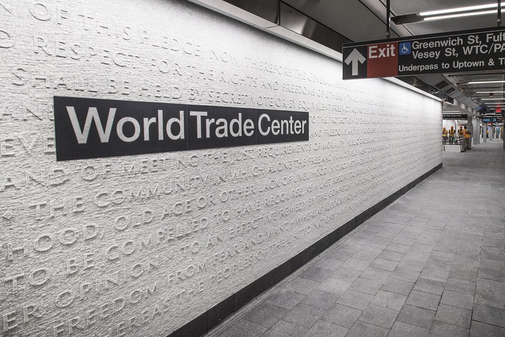 La Station De Métro WTC Cortlandt Street En Photos