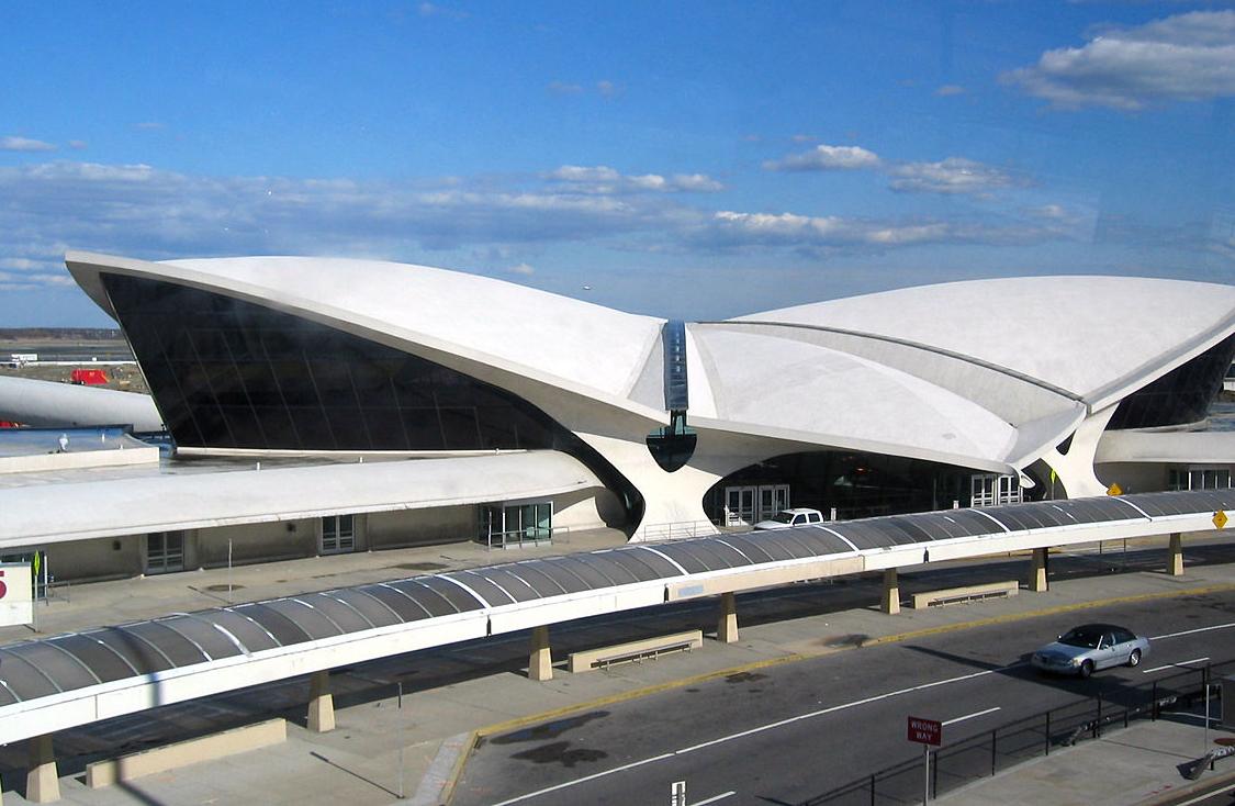 L'ancien terminal de la compagnie TWA.