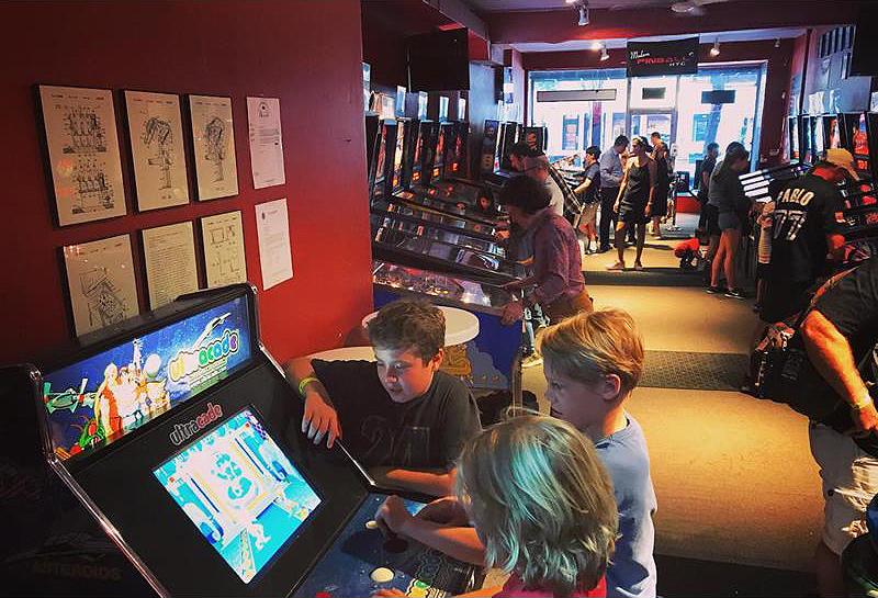 modern pinball new york arcade