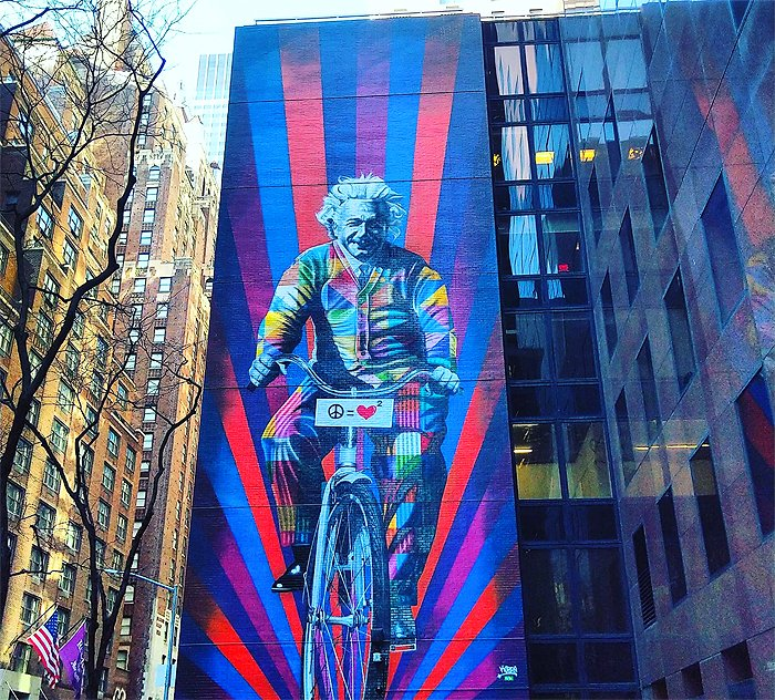 albert einstein new york kobra