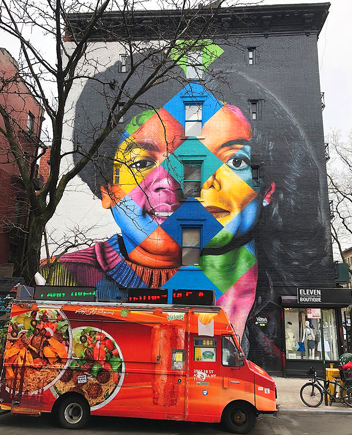 black or white eduardo kobra