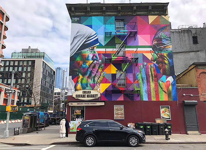mother teresa eduardo kobra new york