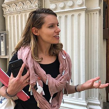 Laurène notre guide à New York