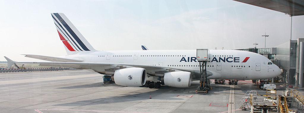 air france A380 paris