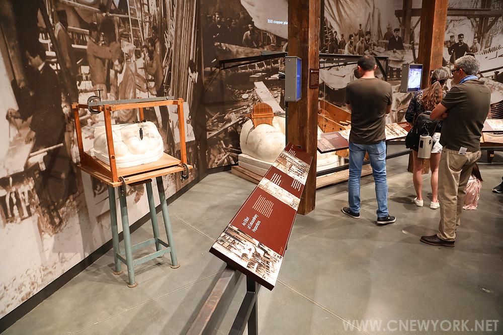 musee statue liberte new york atelier
