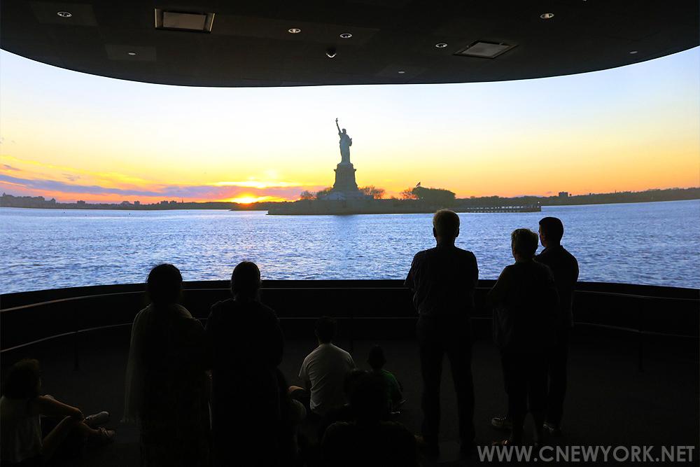 musee statue liberte new york film
