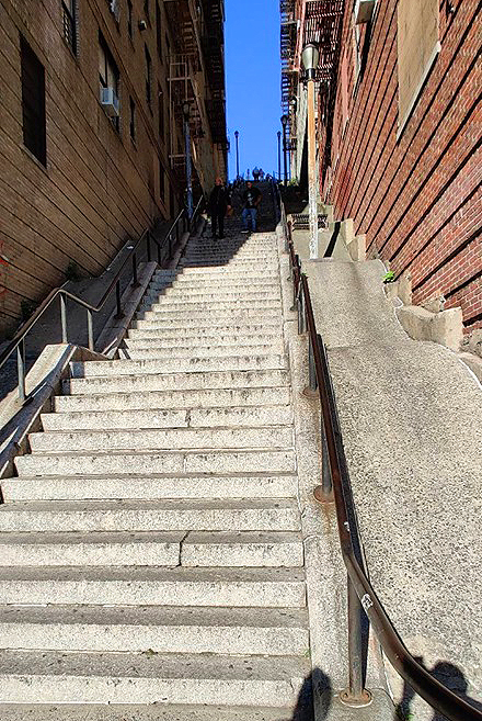 escaliers joker bronx new york