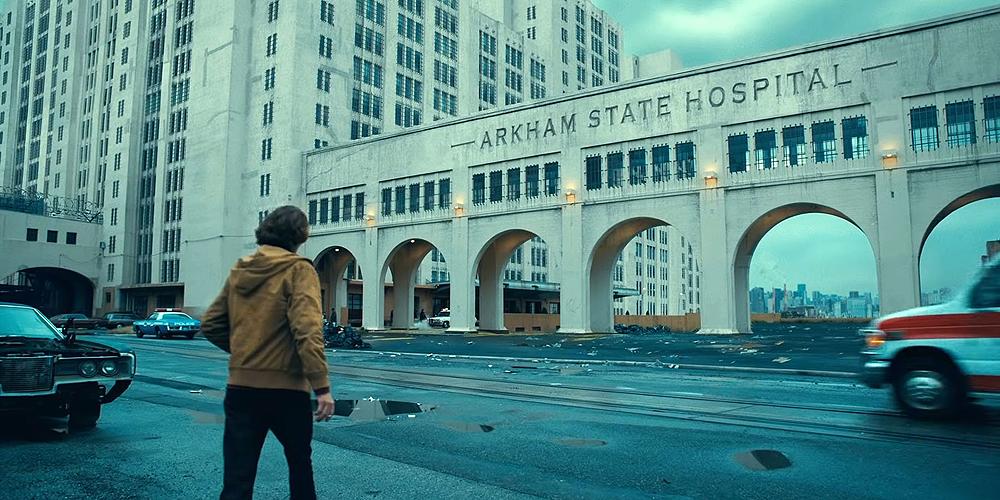 Joker Arkham State Hospital