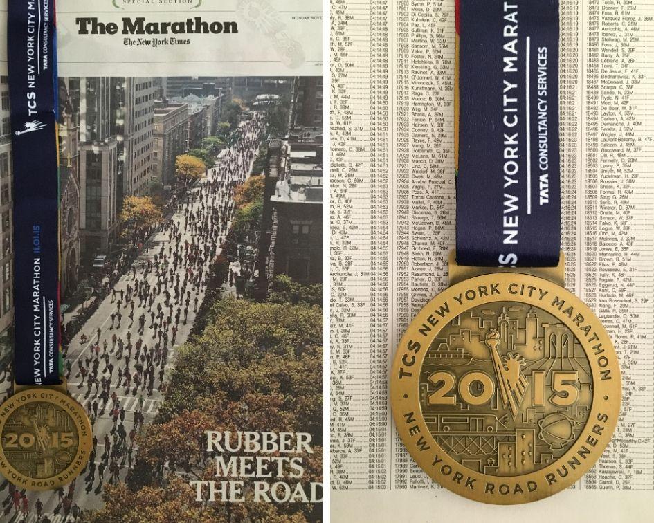 Edition spéciale marathon du New York Times