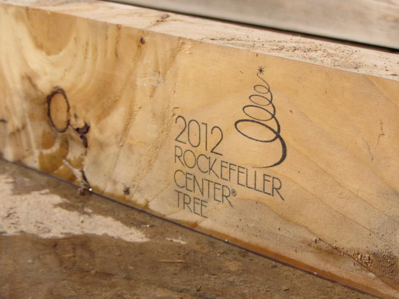 rockefeller center sapin 2012